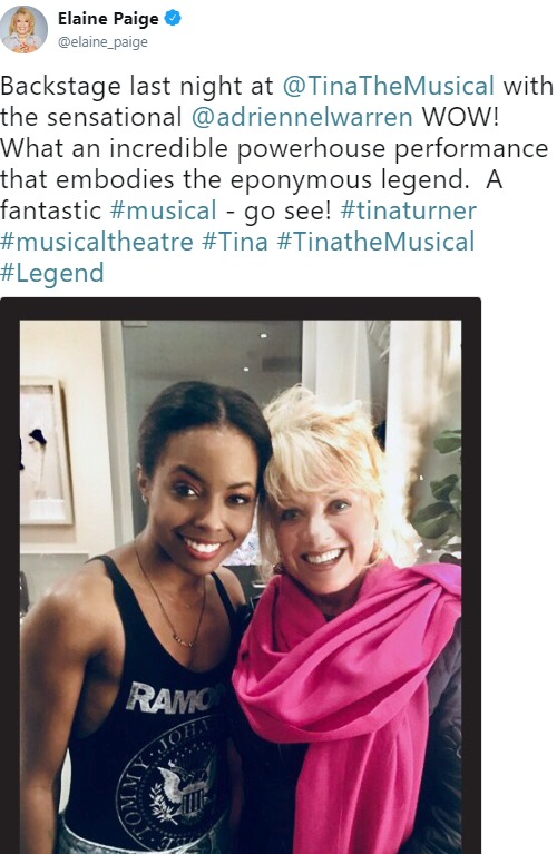 Elaine Paige | TINA The Musical